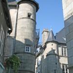 Ussel centre bourg médiéval